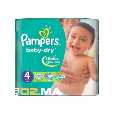 32-couches-maxi-pampers-t4-7-18kg