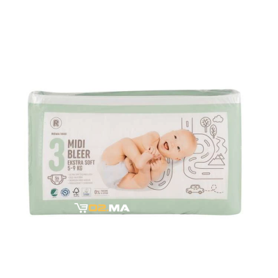 Bleer-Couche bebe-Taille3-56units-5-9kg